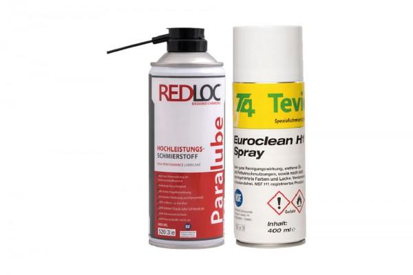 Das perfekt Duo Tevier Euroclean H1 / Redloc Paralube H1
